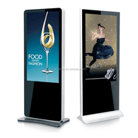 "55"" LCD/LED Kiosk Display Free Standing Digital Signage Advertising Player"