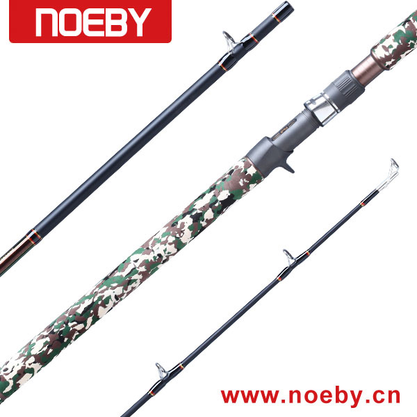 "NBSS762H 7'6"" Snakehead Frog Fishing Rod"