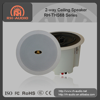 "pa system wall mount Ceiling Speaker RH-THS68 series with 2-way system of 8"" woofer + 1"" tweeter"