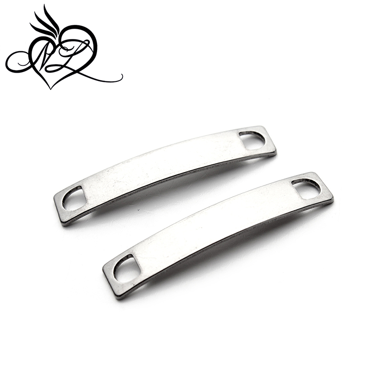Factory stainless steel male leather bracelet men <strong>fashion</strong> bracelet connector