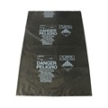 Heavy duty plastic construction garbage bags