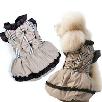 Beautiful pet cloth dog princess dress IPET-PC18