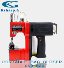 GK9-520 190W Multifunctional Single Needle Chain Stitch Protable Bag Sewing Machine Closer
