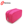 Simple design cheap pink makeup train case