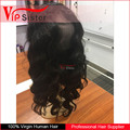 Vipsister Hair 360 lace frontal wig cap human hair bundles with frontal