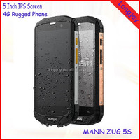 Original Mann ZUG 5S 4G LTE Smartphone Rugged IP67 Waterproof 5 Inch Dragon Glass Screen