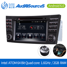 2DIN Android Car Radio Multimedia Player for Ben z E Class Car Navigation System with SWC Bluetooth Wifi