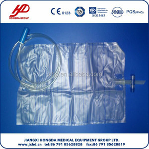 Disposable High Quality Adult Urine Bag with T-Valve