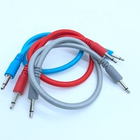 Colorful TS 3.5 mm plugs for portable audio equipment cable