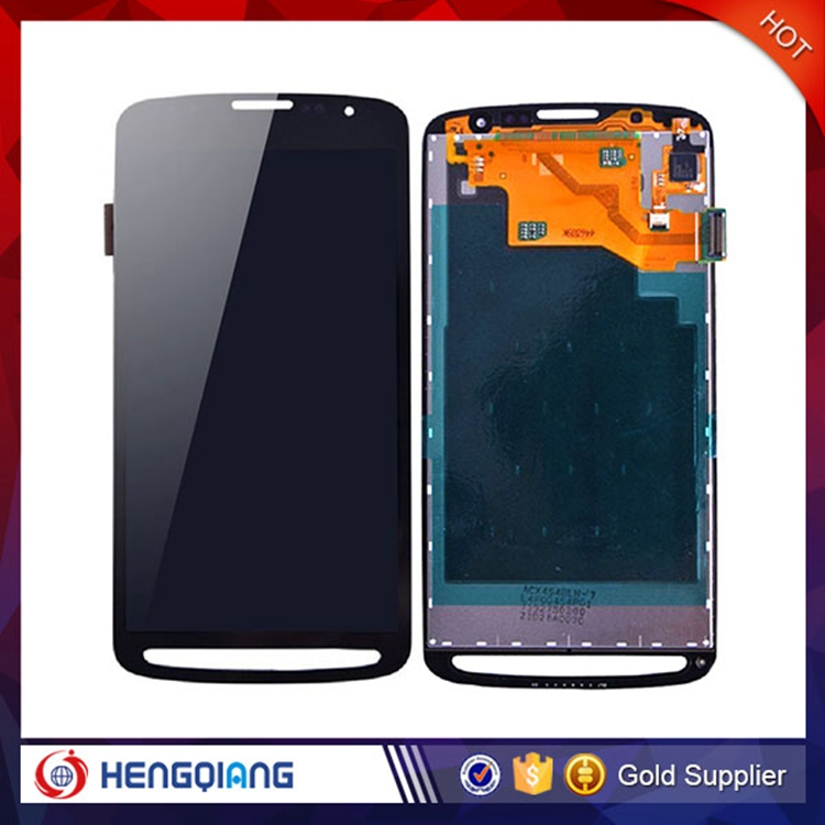 Best quality hot sale LCD digitizer housing assembly for Samsung Galaxy S4 Active i9295 black