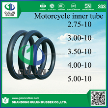 China stander 2.75-10 3.00-10 3.50-10 4.00-10 5.00-10 motorcycle tire tube for sale