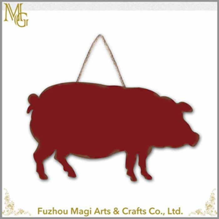 Customized Home Decoration iron animal metal sign home decorative