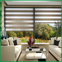 office hollow zebra window blinds