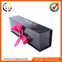 Book shaped hard cardboard pen box with lid made in dongguan