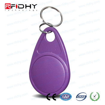 UID Changeable Thermal Printed Numbers RFID Proximity Key Fobs 125khz