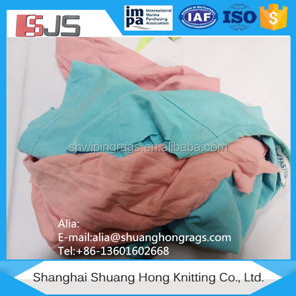 Hosiery color cleaning cloth cotton fabric cutting waste