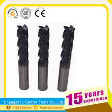 solid carbide HSS 6 flute uncoated reamers/solid carbide long flute length reamer for aluminum cutting milling cutter cu