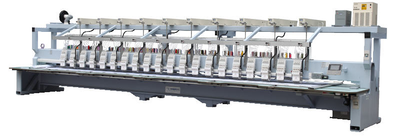 Laser cutting embroidery machine 20 heads with best price