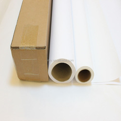 Glossy Solvent Canvas Print Blend Poly Cotton Canvas / Inkjet Plotter Canvas Roll/