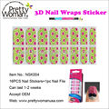 16pcs Adhesive Nail Stickers witn Nail File Pretty Woman Make Up Nail Art Beauty Products