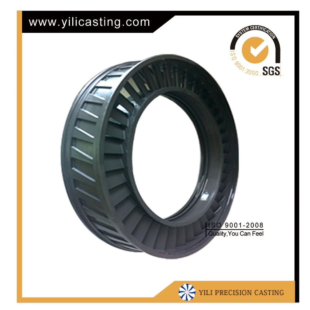 Nickel-based alloy vacuum investment casting turbine blade