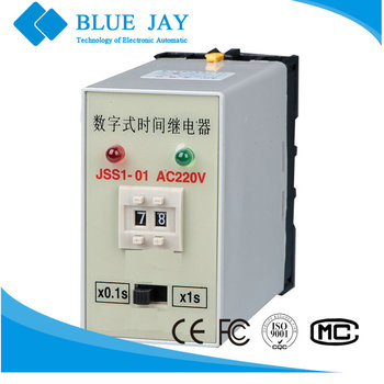 JSS1-01 AC220V 3A Electronic time relay