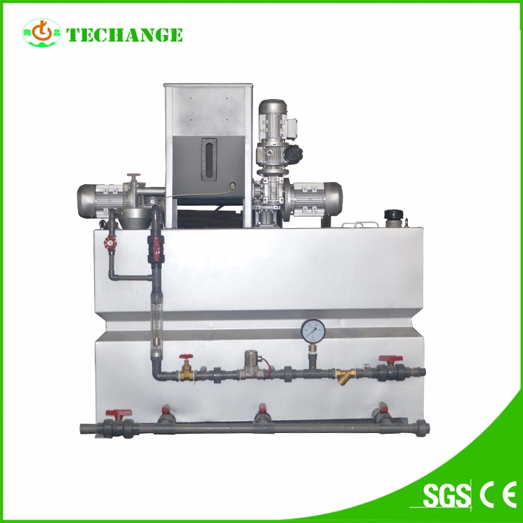 chemical flocculant wastewater treatment automatic feeding machine