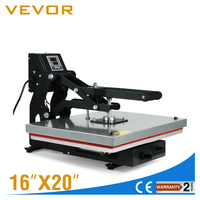 Heat Presses Auto Open 16 x 20 Inch T-shirt Transfer Press 1600W Heat Press Machine with Digital LCD Timer and Temp