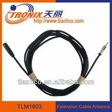 male to female plug extension cable car antenna TLM1603