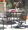 Casablanca Collection Round Cast Table Outdoor