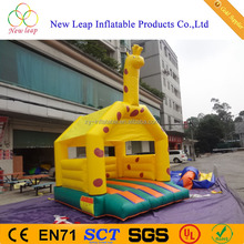 Attractive animal inflatable bouncer, unicorn bouncy castle