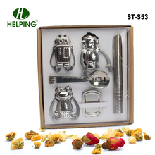 Animal shape mokey frog tea infuser set