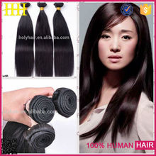 High quality unprocessed remy hair natural colour kbl brazilian hair