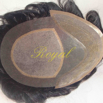Hot Sale 100% Human Hair Hair Replacement for Men