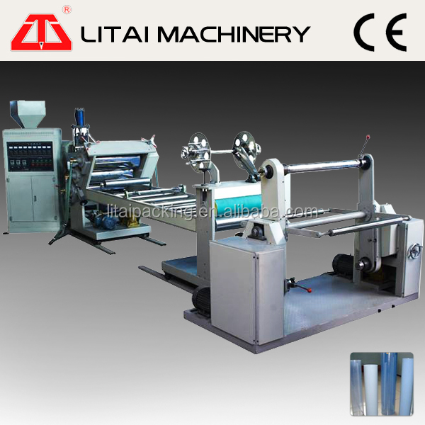 TJ-670 recycled ps granules sheet making machine
