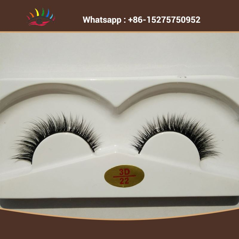 Private lable fales eyelash 0.07mm Ccur Dcurl 3Pairs Synthetic Human Hair False Eyelashes
