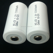 ceba 1.2V sc dry cells rechargeable nicd battery packs