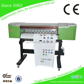 High quality printer and cutter Machine