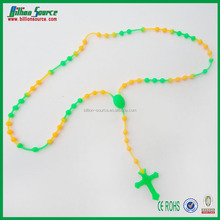 2014 silicone bead chain necklaces designs