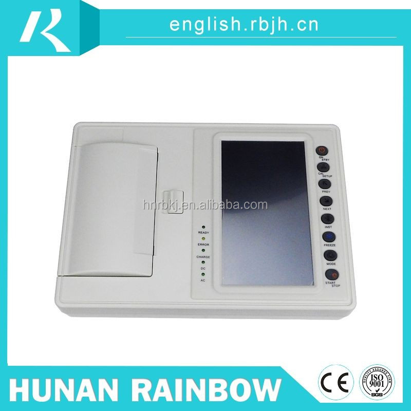 Price custom high reflective handheld cheap faceting ecg machine