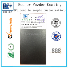 high quality thermosetting electrostatic polyester powder coating silver grey matte