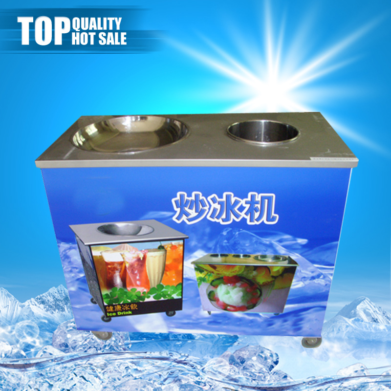 High quality chinese heavy duty fried ice cream rolls machine