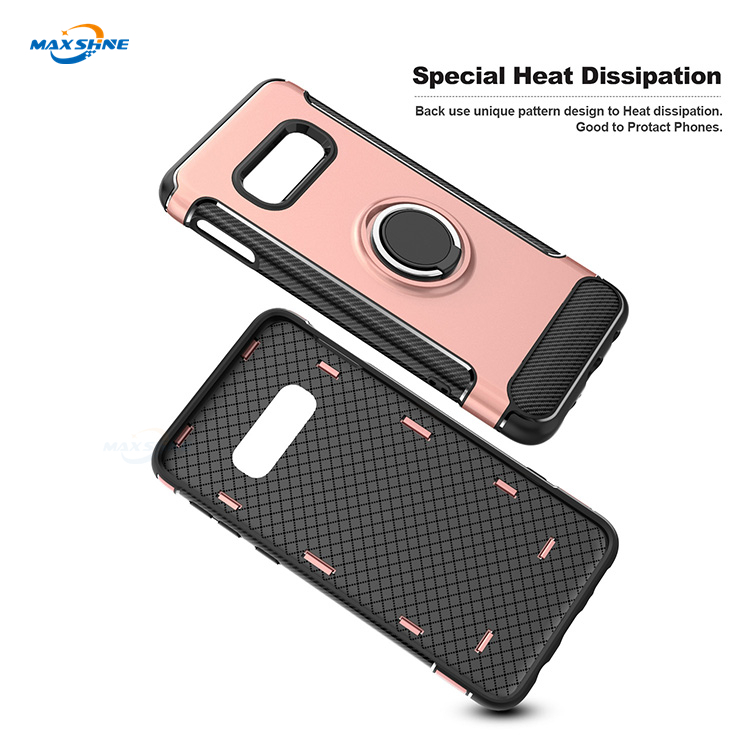 Maxshine Latest Pc Tpu Carbon Mobile Phone Case For Samsung S10 S10 Plus S10E