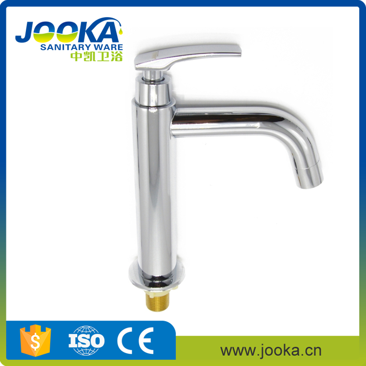 Hot sell plating pull down long body basin sink tap