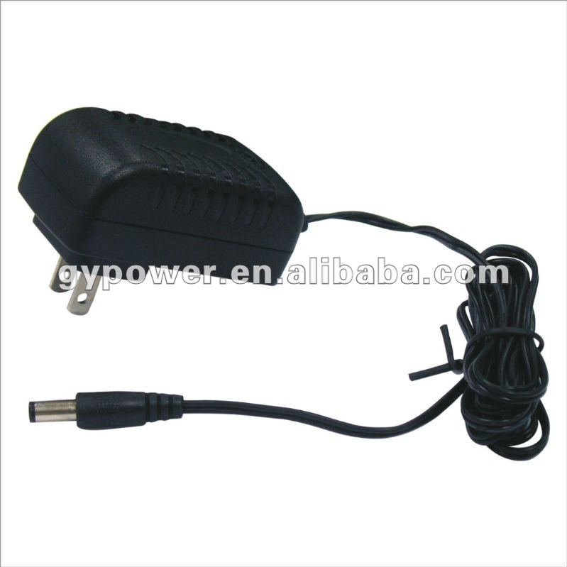 PSE 15W AC/DC Adapter with 100 to 240V AC Input Voltage, Suitable for Digital Photo Frames/POS Terminal