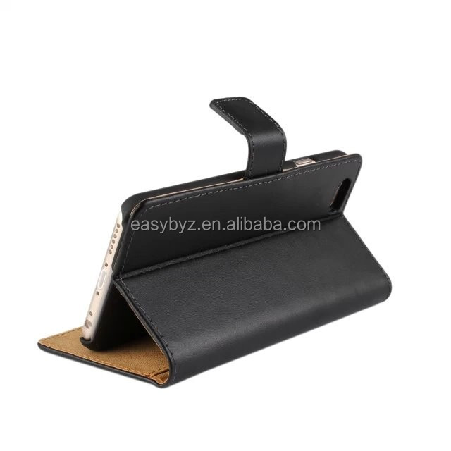 Hot selling Cellphone Genuine Leather Case For Samsung galaxy S4 Mini i9190