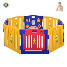 baby furniture durable round plastic safety baby playpen