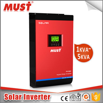 CE certificated Expert off grid Hybrid 2kw 3kw 4kw 5kw solar inverter