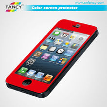 New product color tempered glass screen protector for mobilephone