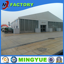 Air conditioned PVC fireproof wind resistance wedding party canopy tent with lining